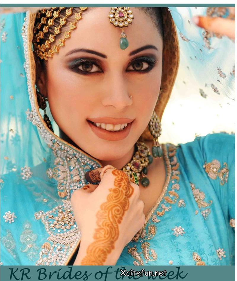 Latest Bridal Makeup Trend and Jewelry  Khawar Riaz Bridal