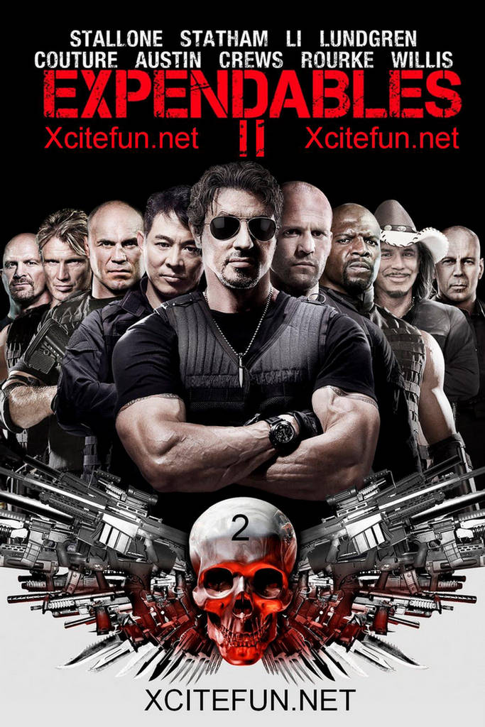 The Expendables 2 : Movie Poster - Movie Wallpapers ...
