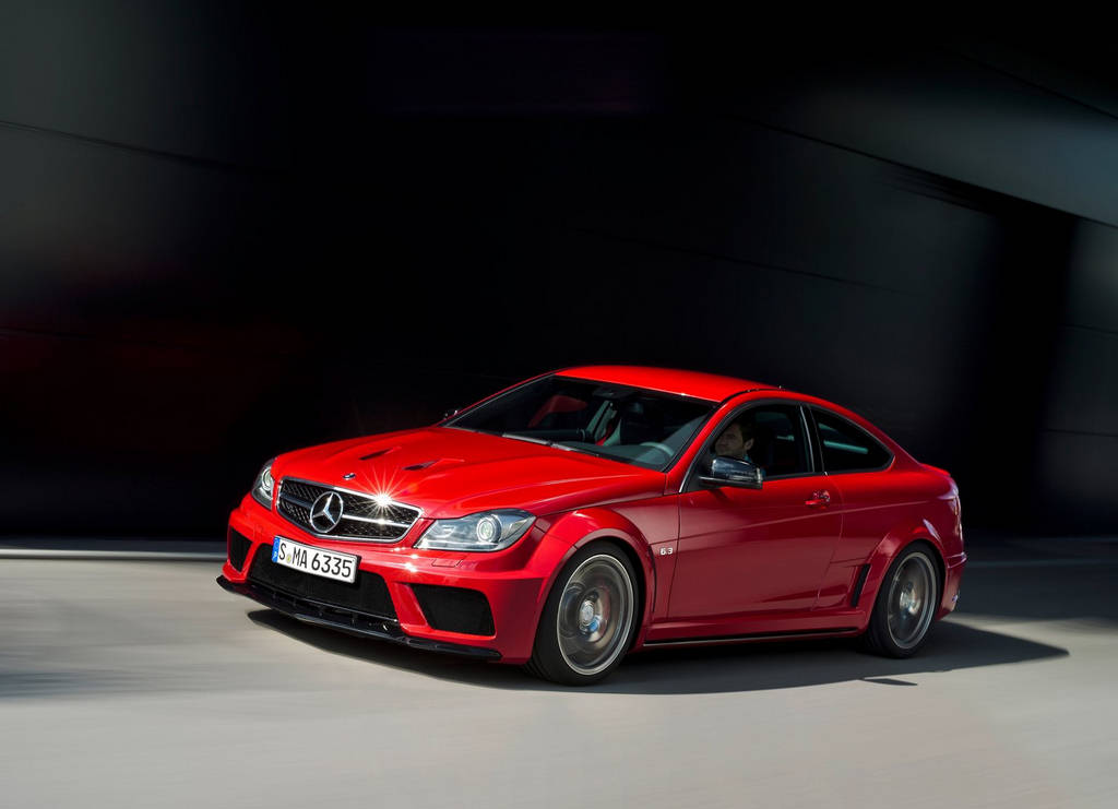 Mercedes benz c63 amg coupe car wallpapers for Mercedes benz c63 sedan