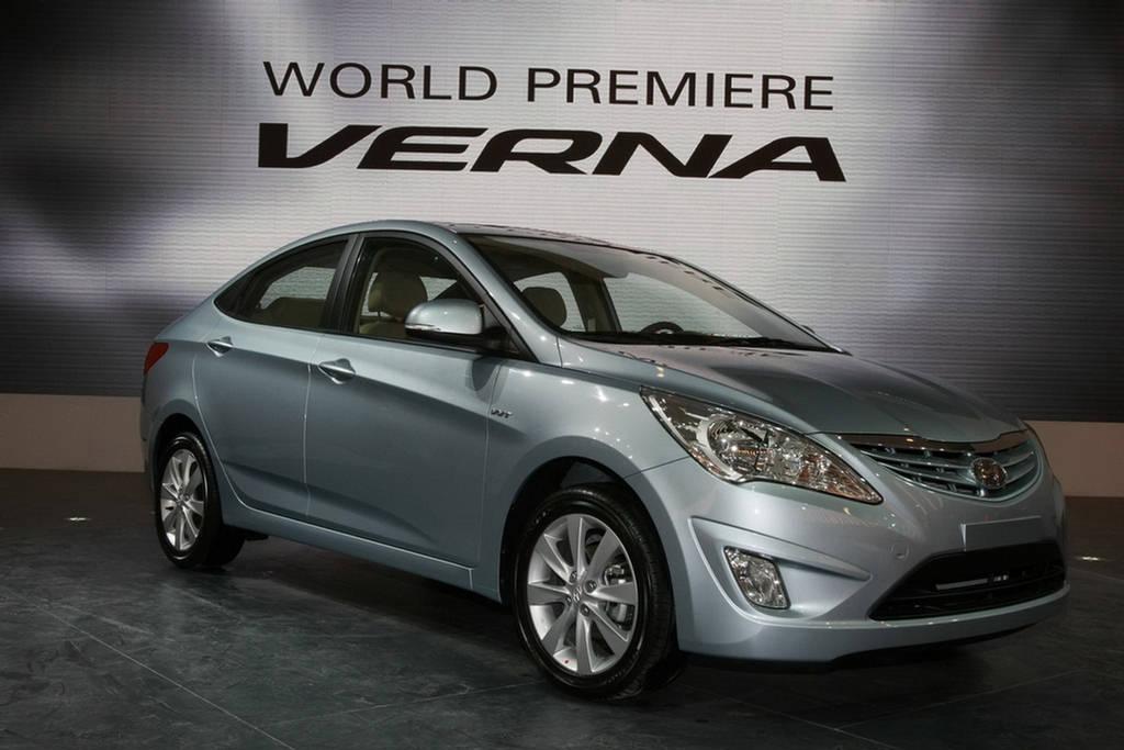 Hyundai Verna Fluidic Accessories Hyundai Verna Fluidic India 2012