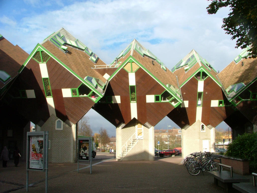 Cube houses most extreme design images for Extreme home designs