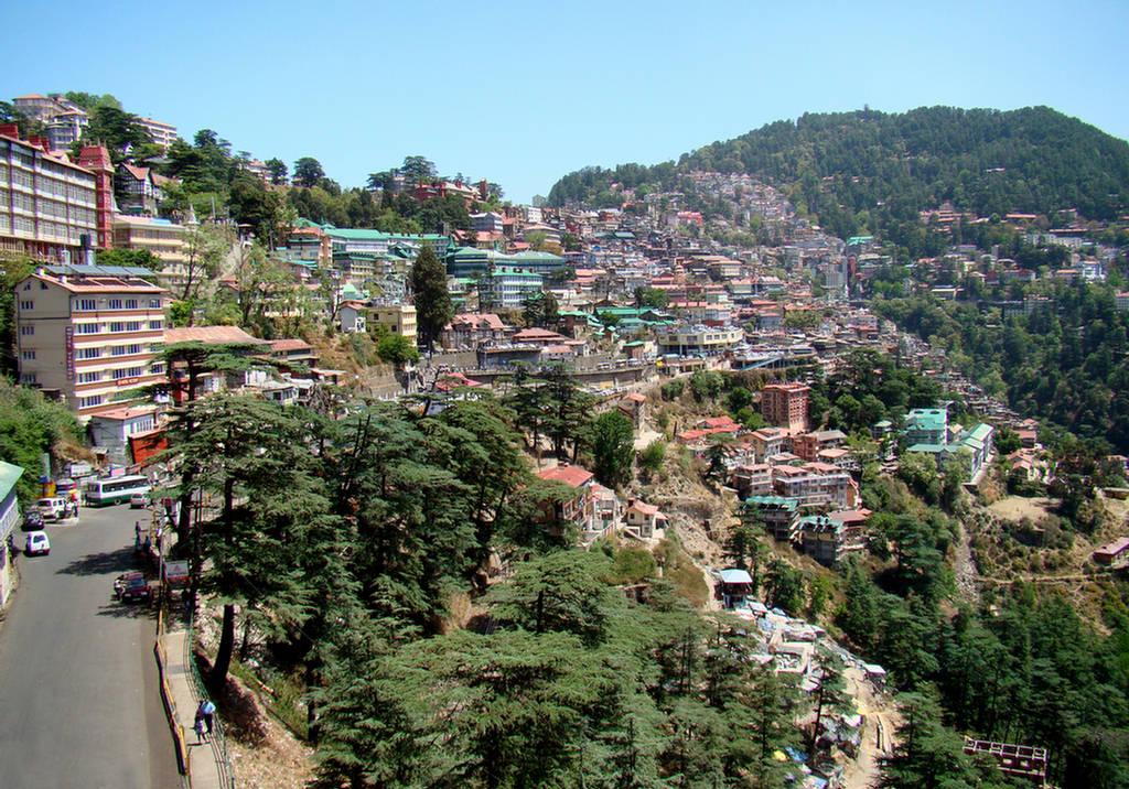 Shimla City The Most Beautiful City Of India