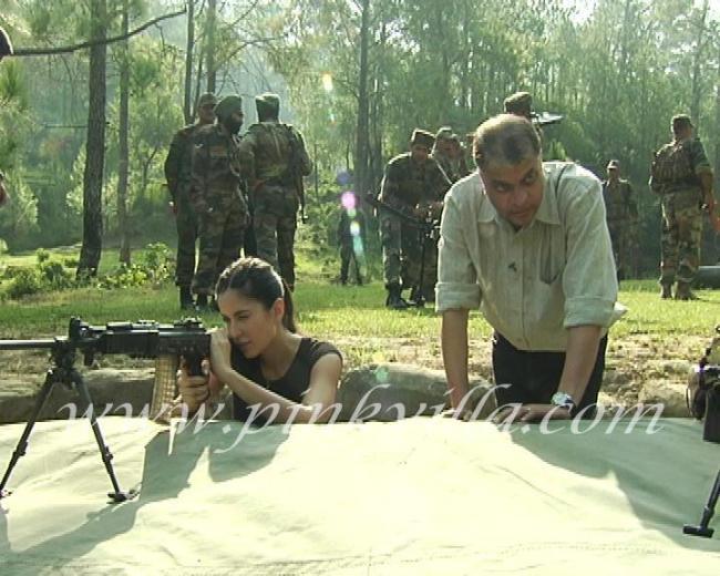 Katrina Kaif Joins Indian Army at LOC
