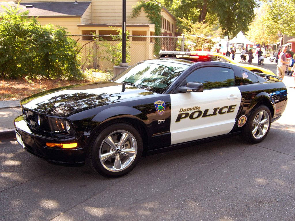 Luxury Classic Cars Ford Mustang Gt Police Car Jpg