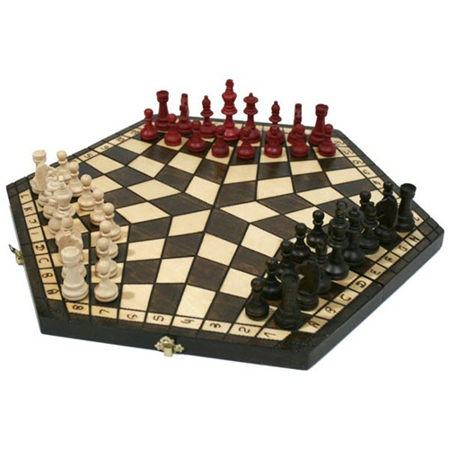 Three Player Chess Game Detail Images Tips
