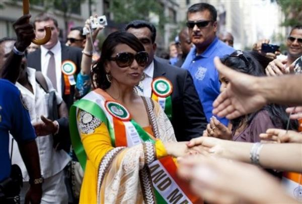 Rani Mukherjee India Day Parade