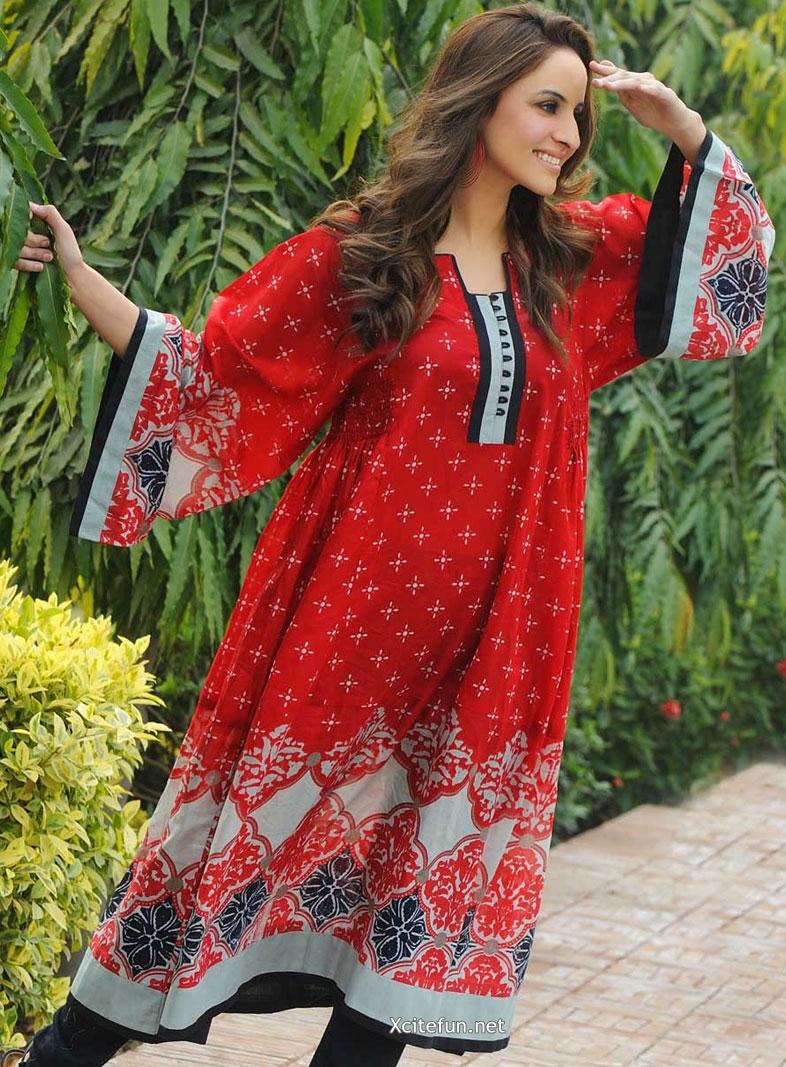 Gul Ahmed Khaddar Eid Wear Collection  Long Shirt