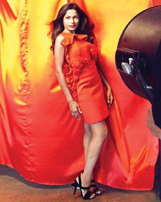 Freida Pinto FLARE Magazine