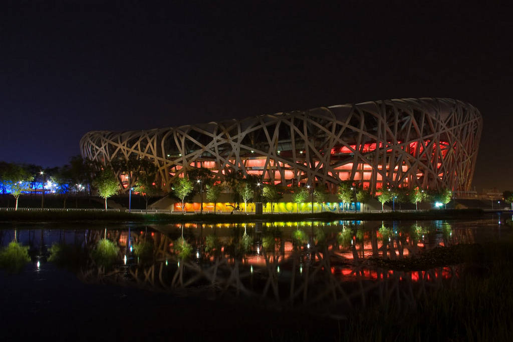 Beijing National Stadium China  Images amp Detail