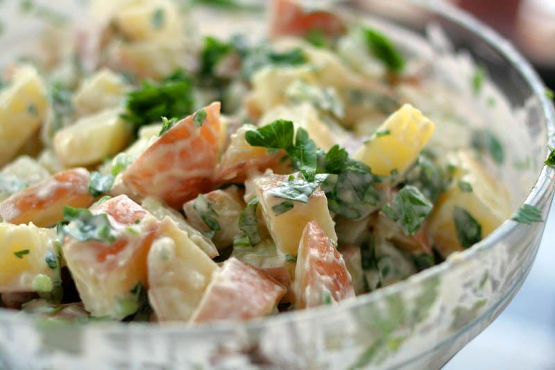 favorite sweet potato salad recipe ingredients 4 large sweet potatoes