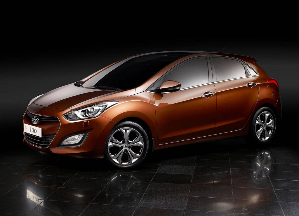 hyundai i30 car wallpapers 2013. Black Bedroom Furniture Sets. Home Design Ideas