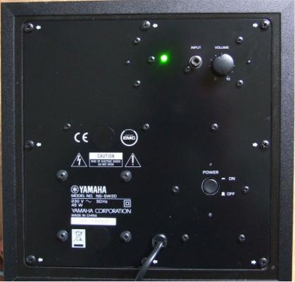 yamaha ns p20 woofer sound system review. Black Bedroom Furniture Sets. Home Design Ideas