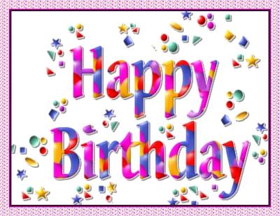 Открытка с дне рождения на английском языке