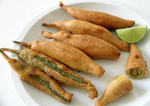 266289xcitefun potato stuffed green chillies 3 - Potato Stuffed Green Chillies