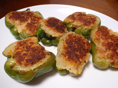 266291xcitefun potato stuffed green chillies 1 - Potato Stuffed Green Chillies