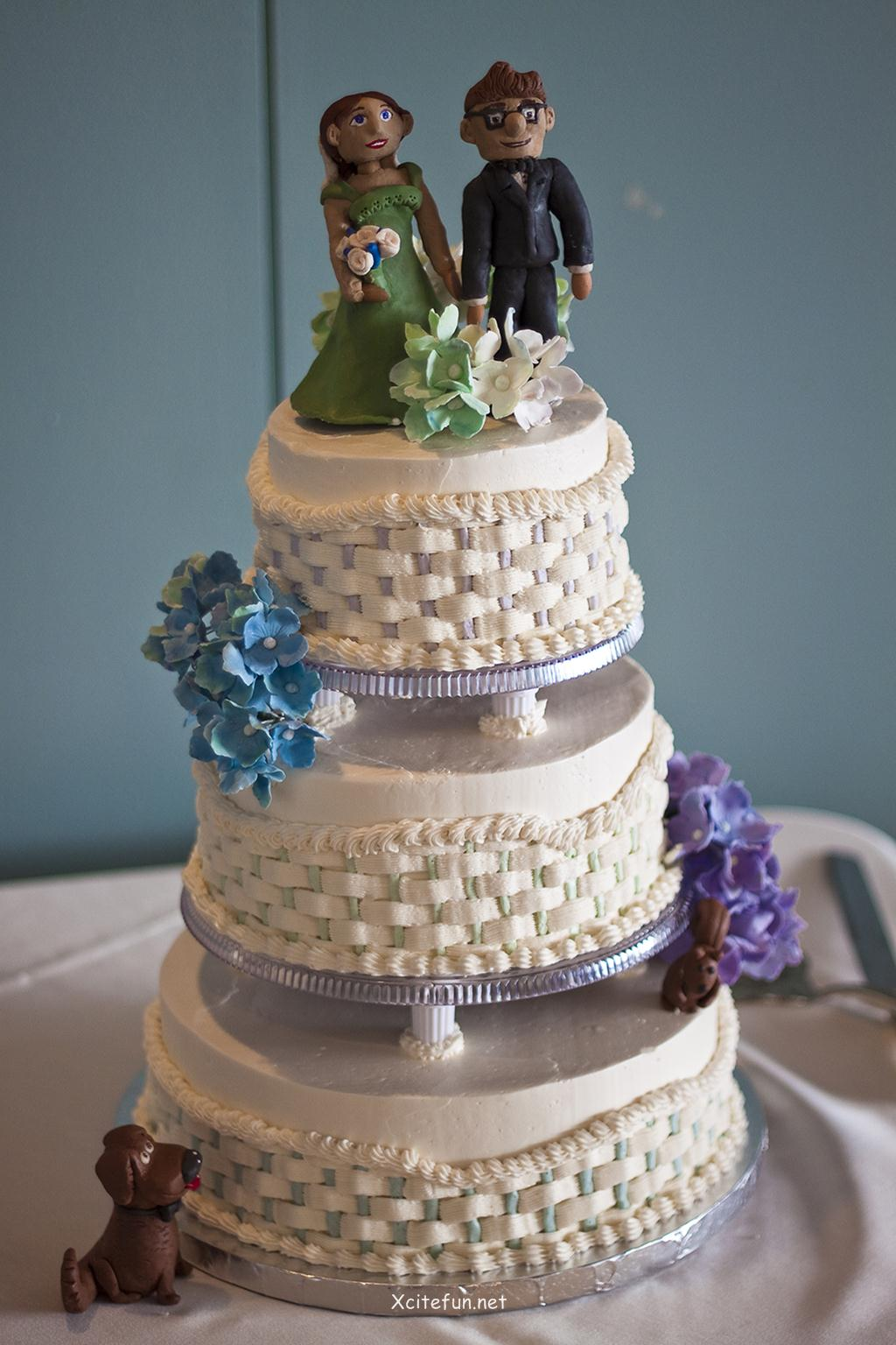 Cake Decorating Ideas For Wedding Simple : Wedding Cakes - Decorating Ideas - XciteFun.net