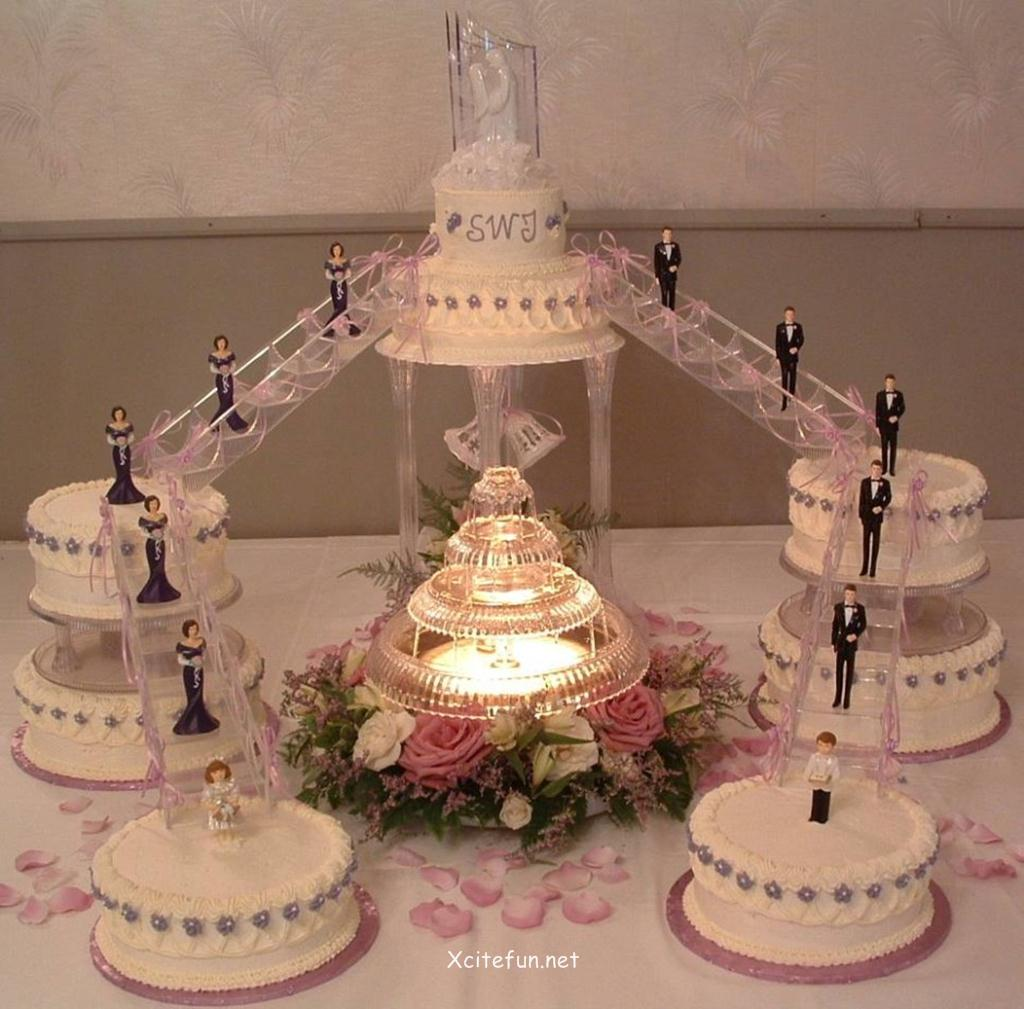 Decoration Ideas Of Cake : Wedding Cakes - Decorating Ideas - XciteFun.net
