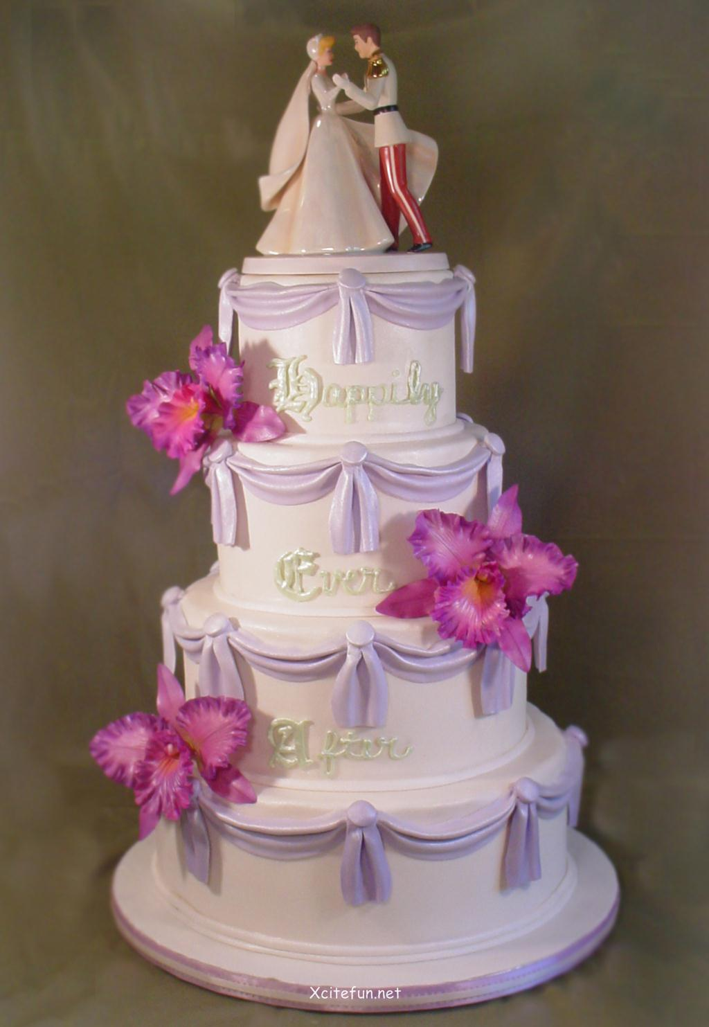 Cake Decoration Wedding : Wedding Cakes - Decorating Ideas - XciteFun.net