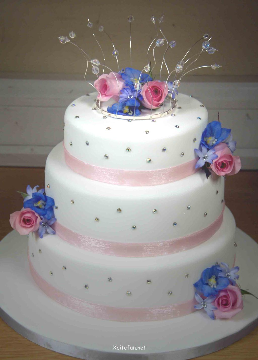 Wedding Cake Recipes And Decorating Ideas : Wedding Cakes - Decorating Ideas - XciteFun.net