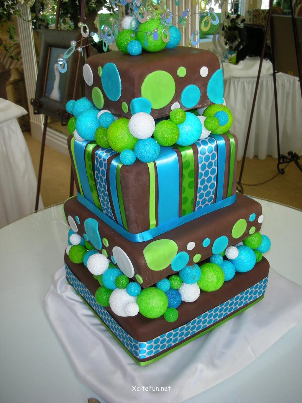 Cake Decor Ideas : Wedding Cakes - Decorating Ideas - XciteFun.net