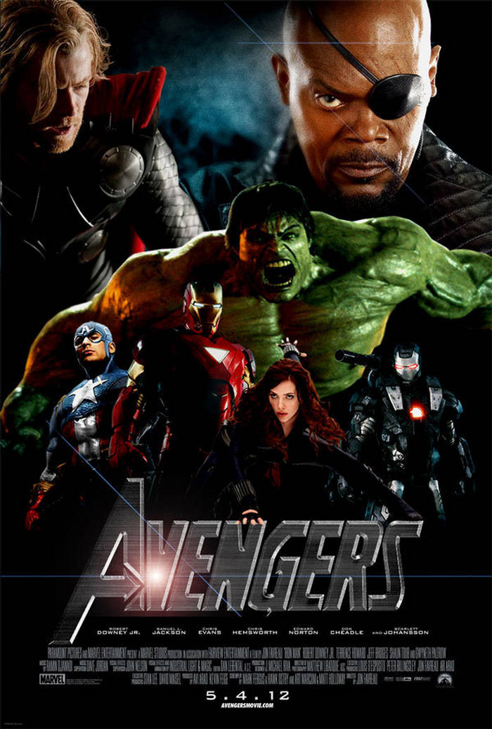 Avengers Movie Poster Image