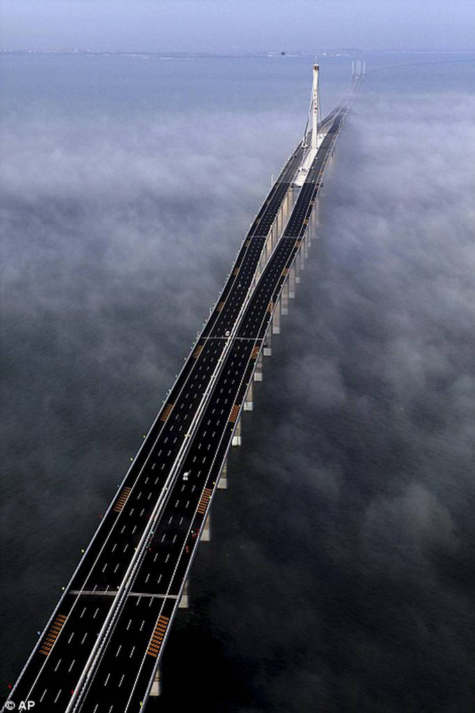Danyang Kunshan Grand Bridge  Worlds Longest Bridge