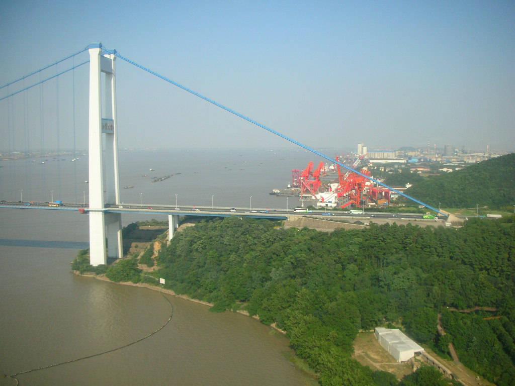 Jiangyin China  city photos : Jiangyin Suspension Bridge Of China Images n Detail : Travel Tourism