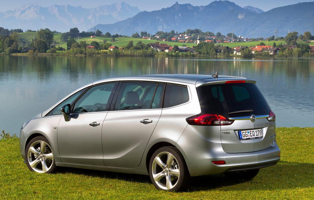 opel zafira tourer car wallpapers 2012. Black Bedroom Furniture Sets. Home Design Ideas