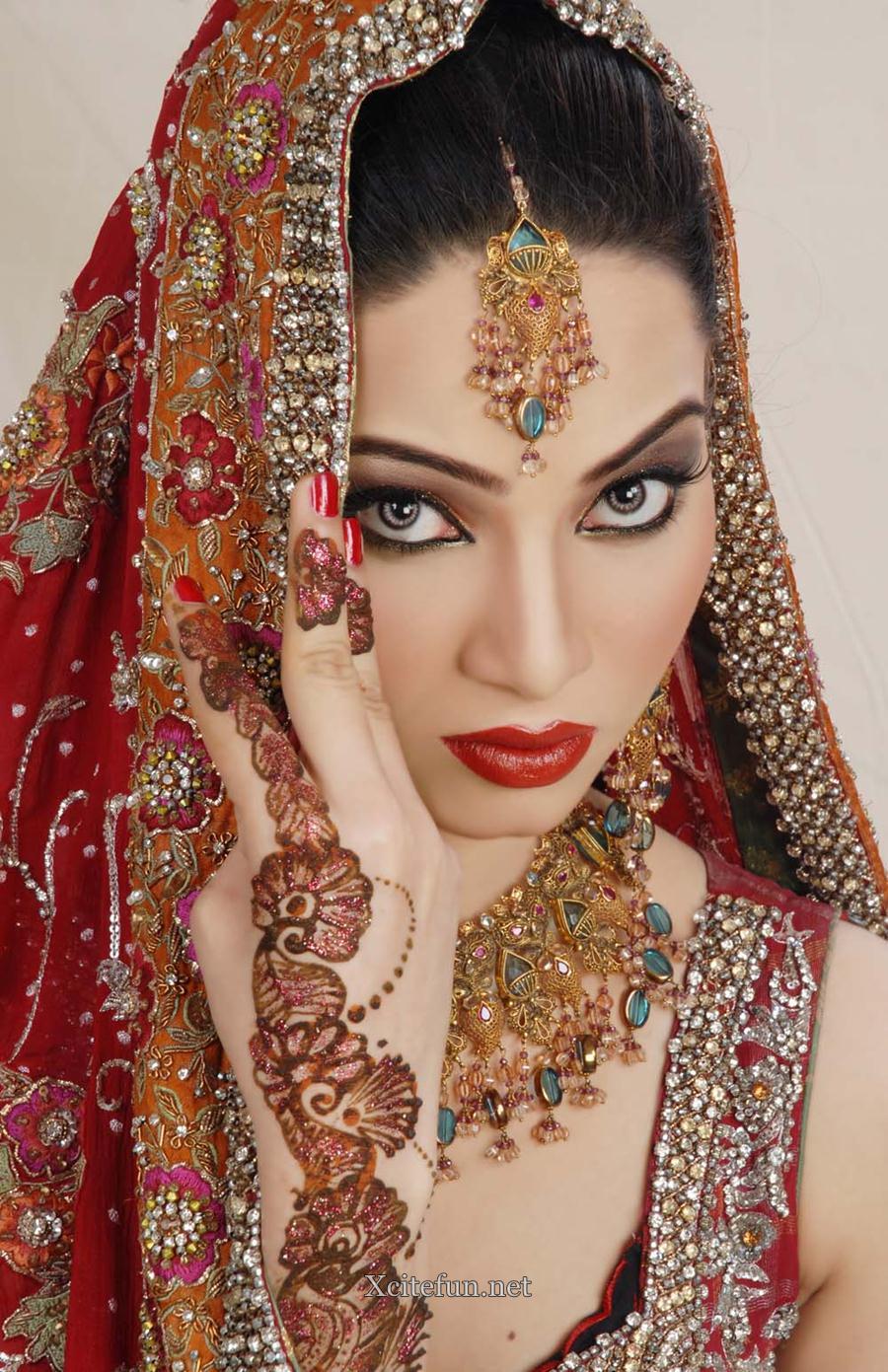 Astonished Pakistani Bridal Makeover - XciteFun.net