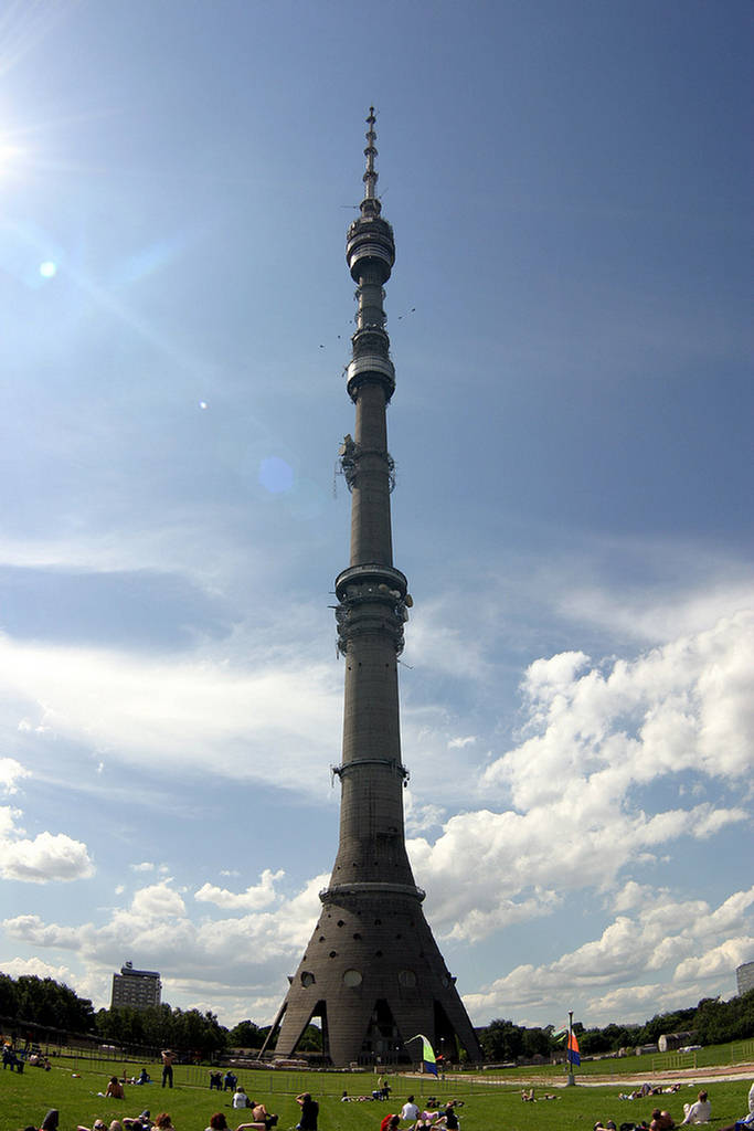 Ostankino Tower Russia  Images n Detail