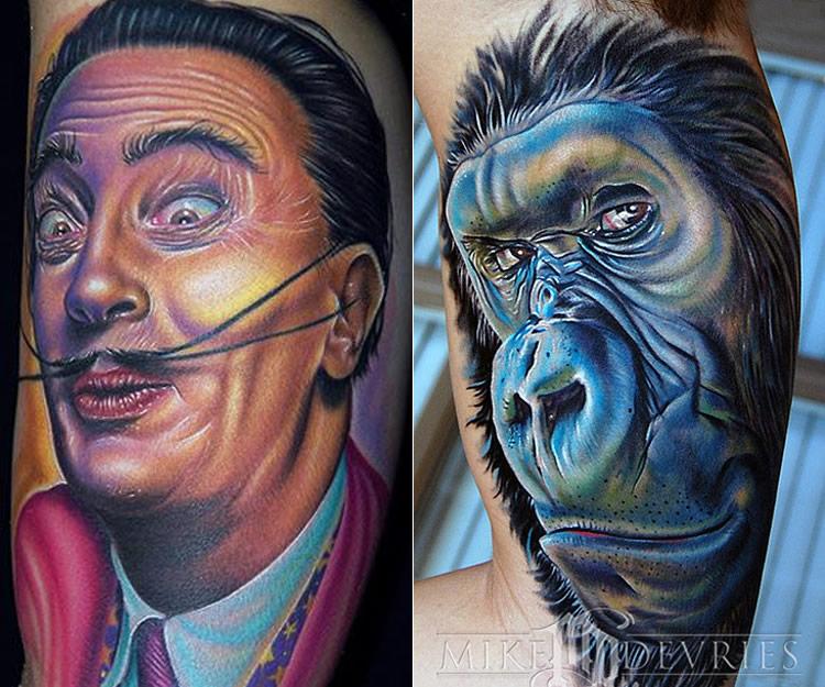 Blackp3arl4u new realistic tattoos design for Best realistic tattoo artists