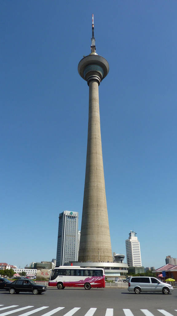 Tianjin Radio And Television Tower China Images Xcitefun Net