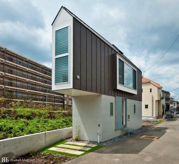 Top 30 Military Architecture Firms Building Design: Super Slim House In Tokyo