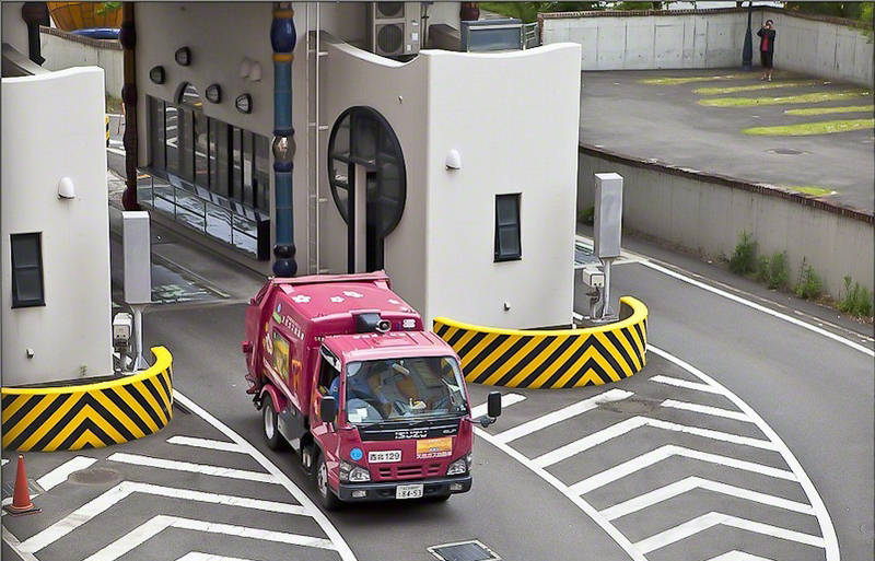 Candy Coated Waste Disposal Plant Japan