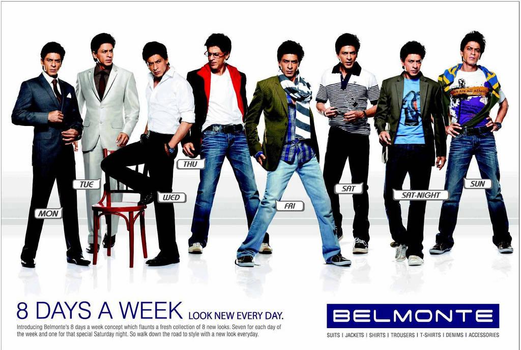 Shahrukh Khan Fashion Figure Belmonte Fine Apparel