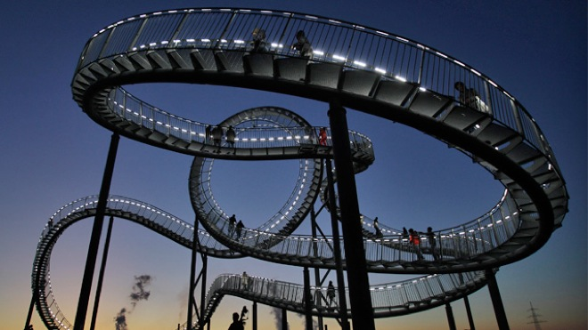 Walkable Roller Coaster Germany  Images n Video