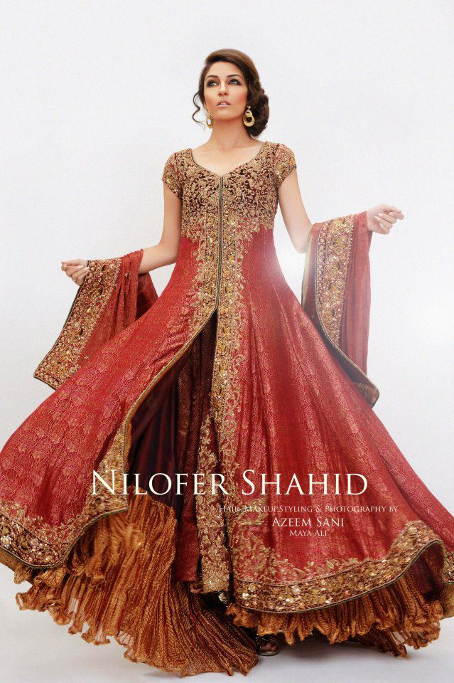 271966xcitefun nilofer shahid latest bridal collection  - Nilofer Shahid Latest Bridal Collection 2011-2012