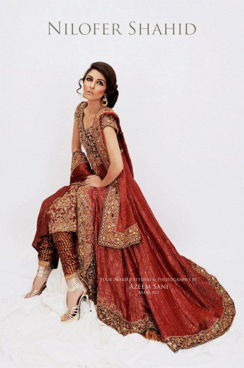 271969xcitefun nilofer shahid latest bridal collection  - Nilofer Shahid Latest Bridal Collection 2011-2012