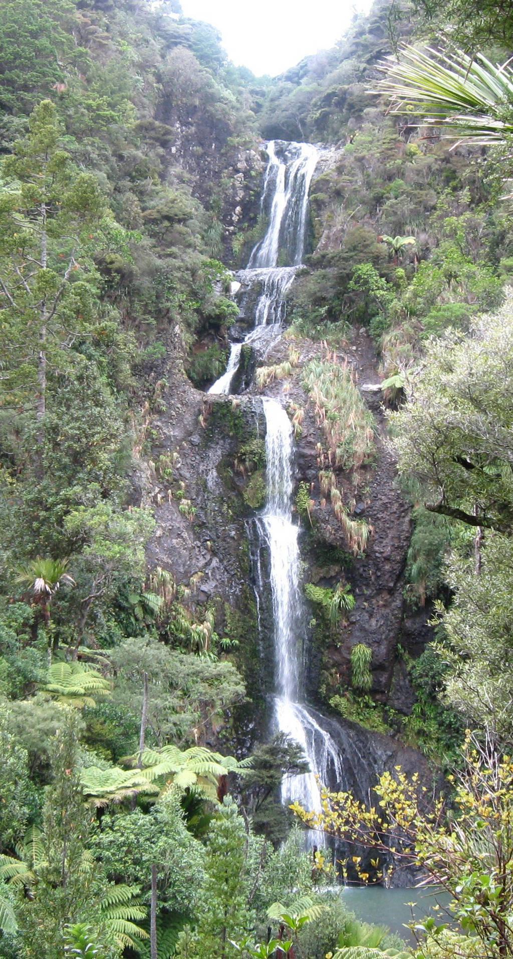 Kitekite Falls New Zealand Images N Detail Xcitefun Net