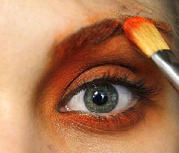 Funky Eye Makeup