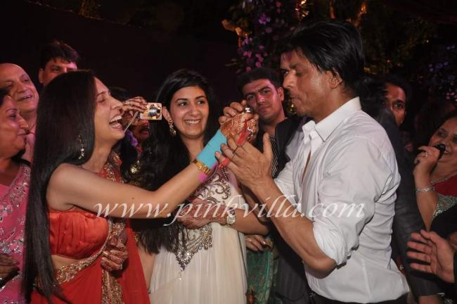 Shahrukh Khan Chaturvedi Family Wedding Party