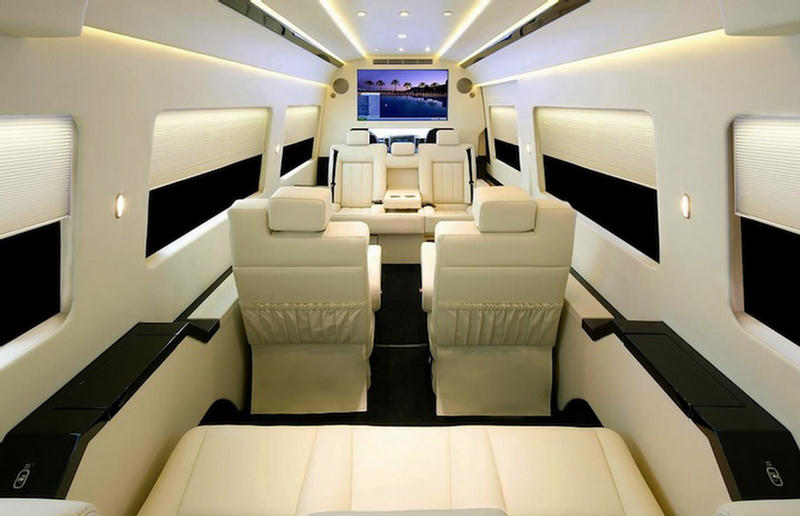 Mercedes Benz Van Shocking Luxury Interior Xcitefun Net