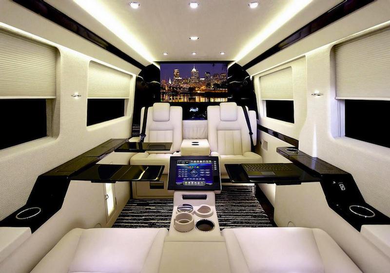 Mercedes Benz Van Shocking Luxury Interior Xcitefun