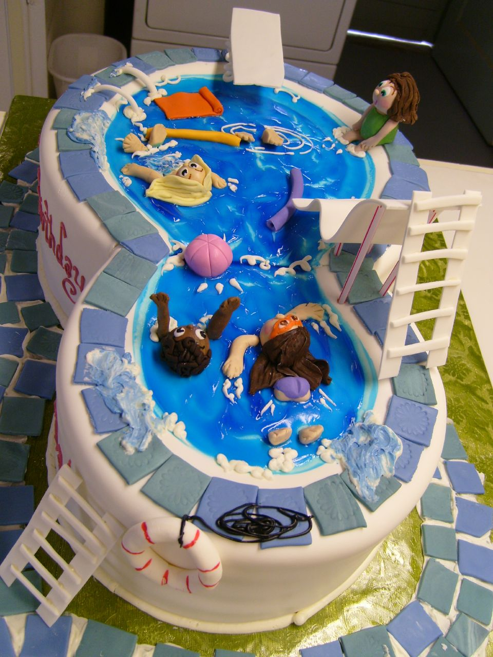 ~~Yummy Artistic Cream Cakes ~~ 275753,xcitefun-swimming-pool-cake