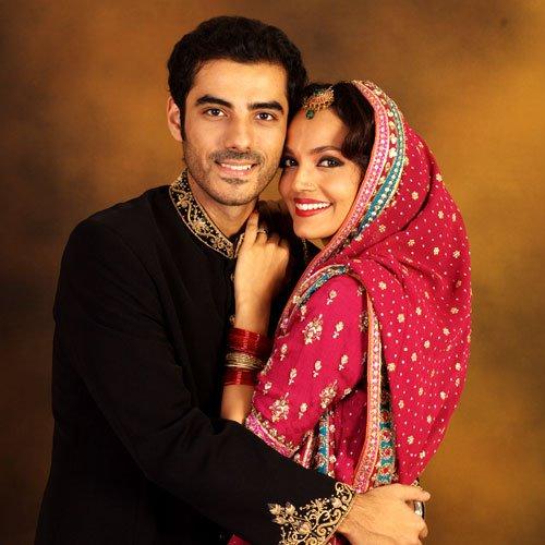 Pakistani Actress And Model Aamina Sheikh Did A Romantic Wedding Shoot Along