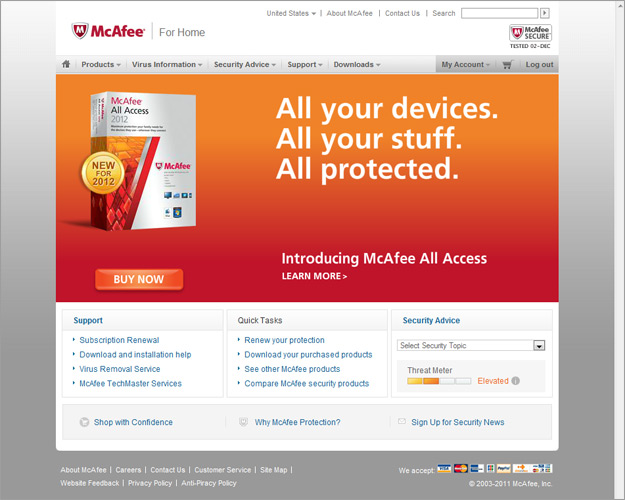 McAfee All Access Security Software Review - XciteFun net