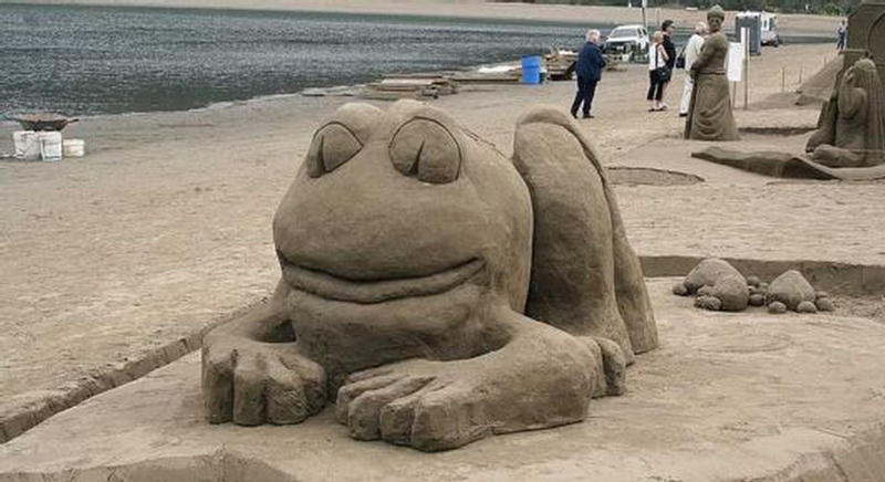 Mind Blowing Sand Castles Competition
