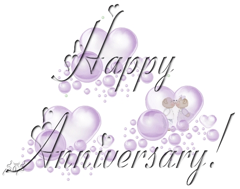 Happy Wedding Anniversary Mr. And Mrs. Admin**