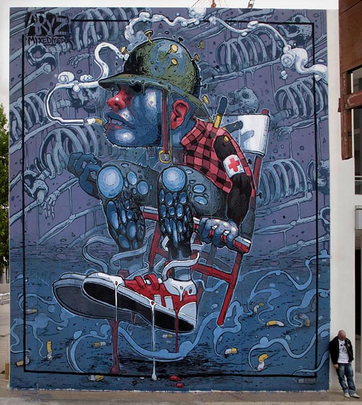 New Graffiti Wall Art