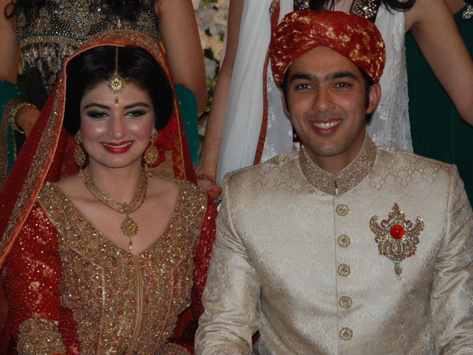 Aisam Ul Haq and Faha Makhdum  Wedding Pictures